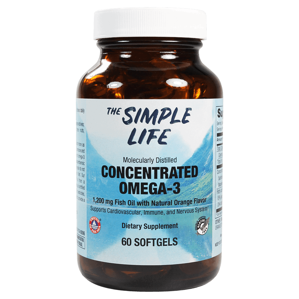 Concentrated Omega 3 fish oil
