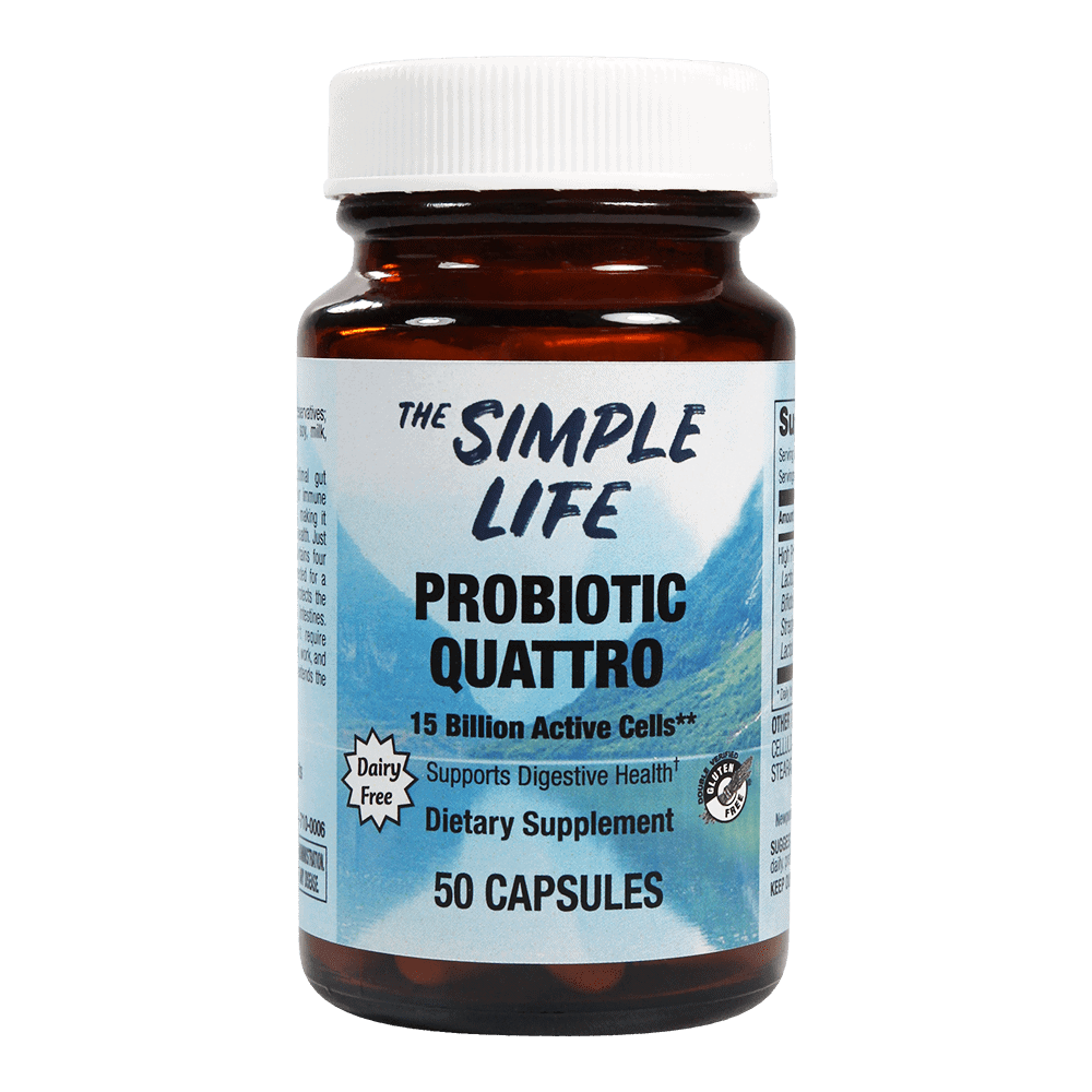 The simple life probiotics for digestive health the for Simplistic lifestyle