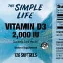 Vitamin D3 Label Facts