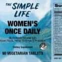 Womens Multi Daily Label Facts