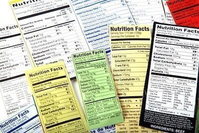 Primal Power Method Food Labels