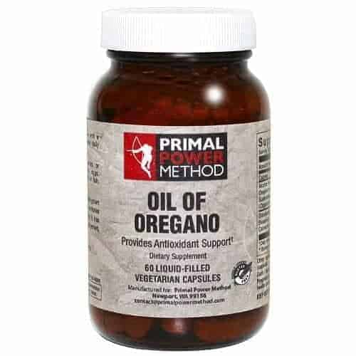 Primal Power Method Oil of Oregano is great for boosting your immunity and common infections