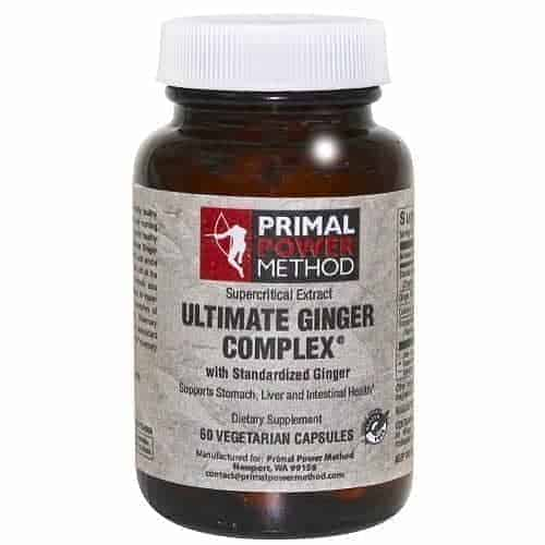 Primal Power Method Ginger Complex is great for better digestion and immune support
