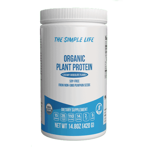 The Simple Life Organic Pumpkin Protein Powder (Chocolate)