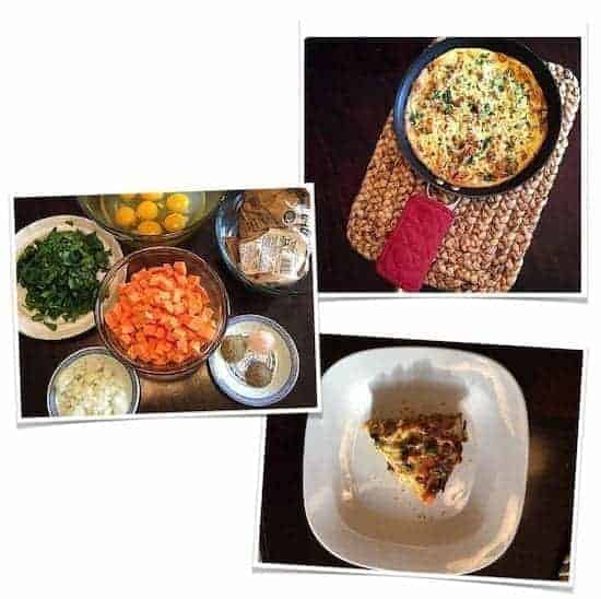 Primal Power Method Sweet Potato Frittata