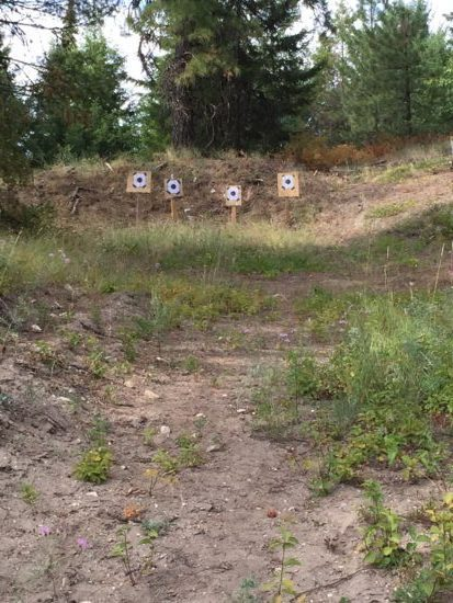 Nothing better than your own off the grid shooting range