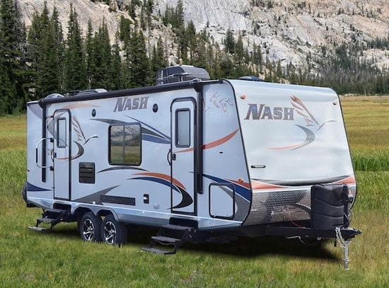 Gary Collins Nash 24M travel trailer