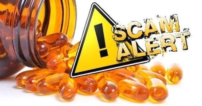 supplement scams