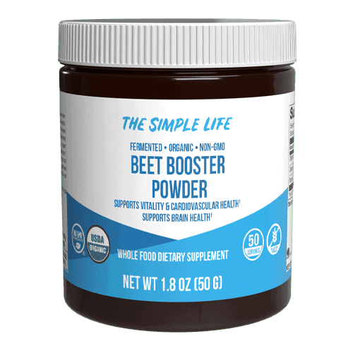 The Simple Life Organic Fermented Beet Booster Powder