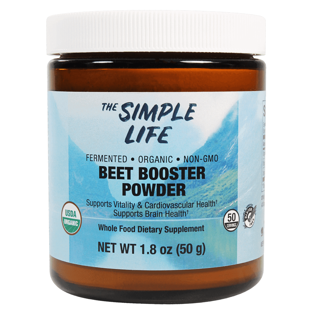The Simple Life Organic Fermented Beet Powder