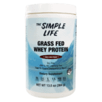 the simple life grass fed whey protein