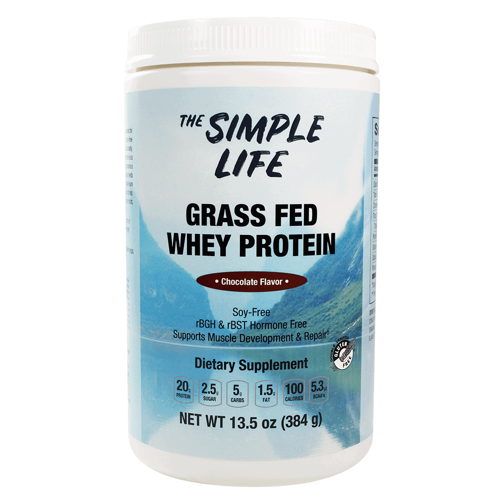The Simple Life Grass Fed Whey (Chocolate)