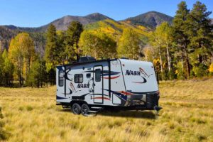 litetweight travel trailer